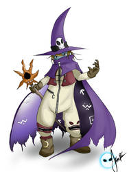 Wizardmon by JerryRC