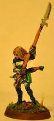 Elf Polearm Master by Hamenopi