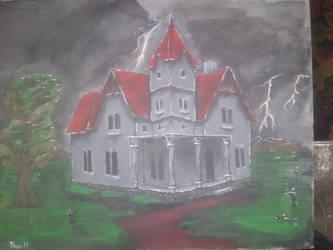 Haunted House by Hamenopi