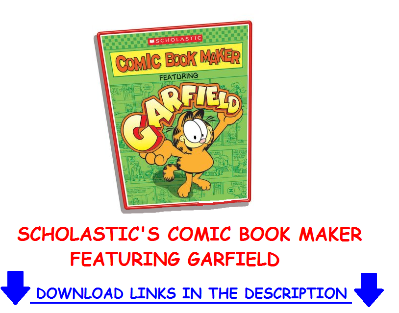 Scholastics comic book maker featuring garfield