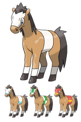 Horse Fakemon by peteToaDDy