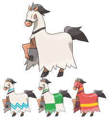 Horse Fakemon Evolution by peteToaDDy