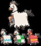 Horse Fakemon Evolution