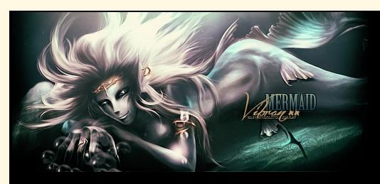 Vibrant-mermaid by TAKASIKYO