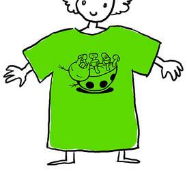 bug shirt by keksfish