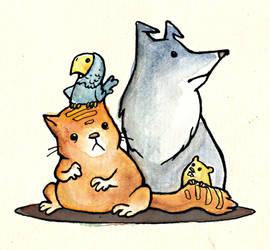 pets by keksfish