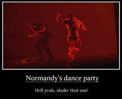 Normandy's Dance Party by SpiritOfNature