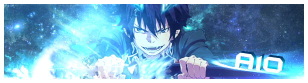 Ao no exorcist sign by A10creation