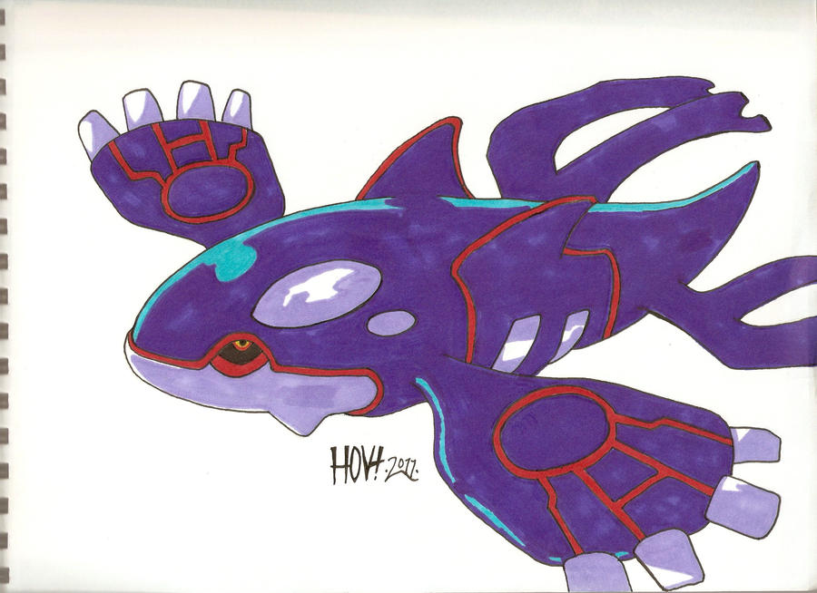 Pokemon kyogre by davidbatmanfan on deviantart