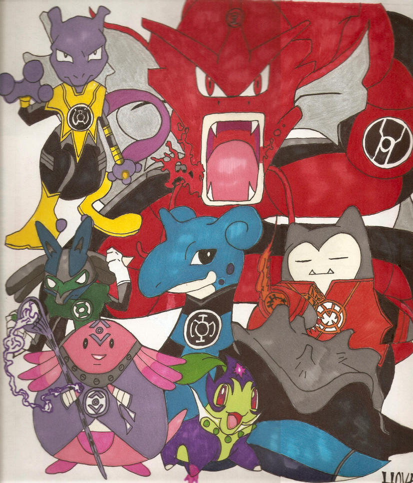 Pokemon Corps by Davidbatmanfan