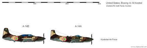 Boeing A-14 Kestrel - USA