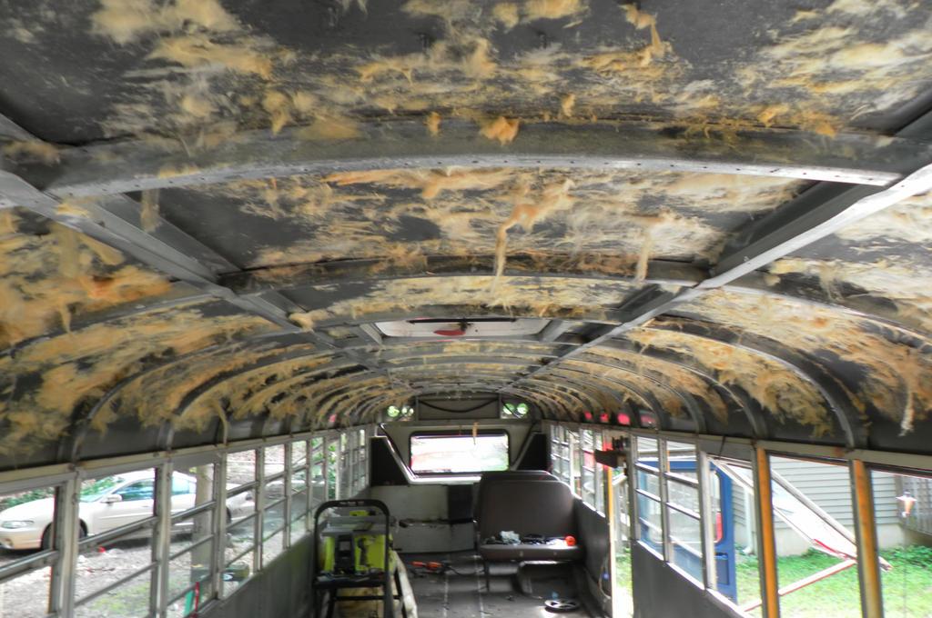 Cover Interior Ceiling School Bus Conversion Resources