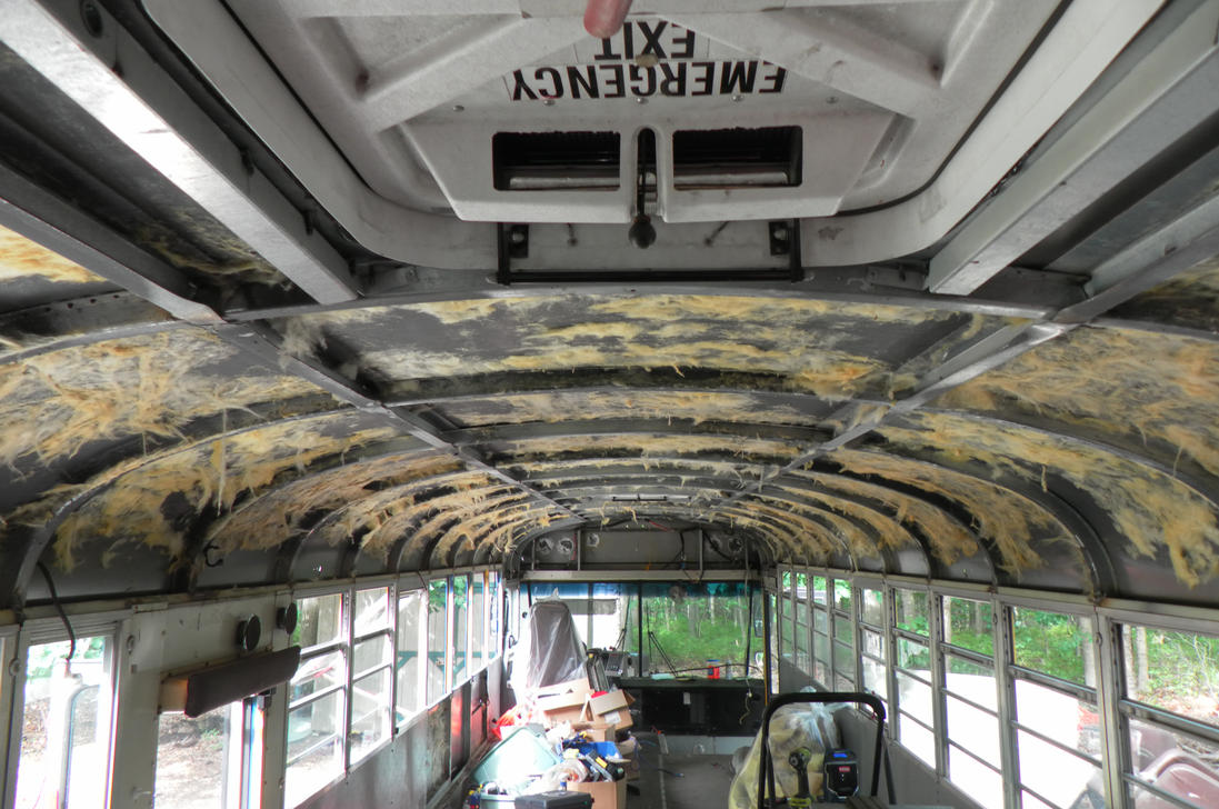 Cover Interior Ceiling School Bus Conversion Resources