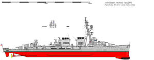 Nicholas class DDG by Scooternjng