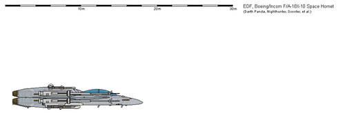 Boeing-Incom F A-18X-10  Space Hornet - USA