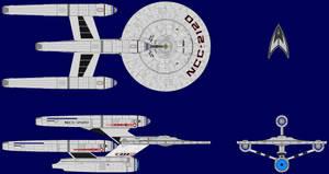USS Entente Multiview