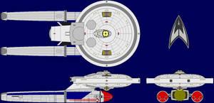 USS Cumberland Multiview