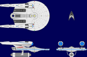 USS Dampier Multiview by Scooternjng