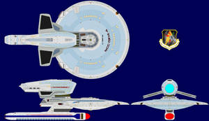 USS Comanche Creek, NCC-0214-A by Scooternjng