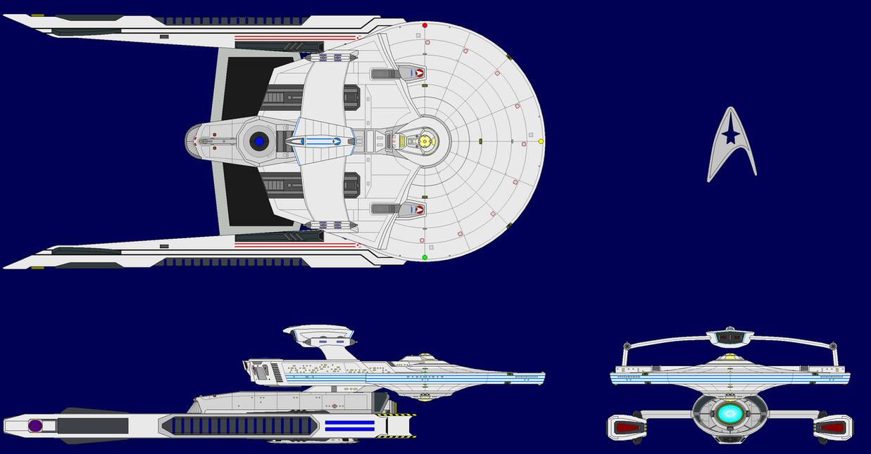 USS Xena JJ-Verse Refit by Scooternjng