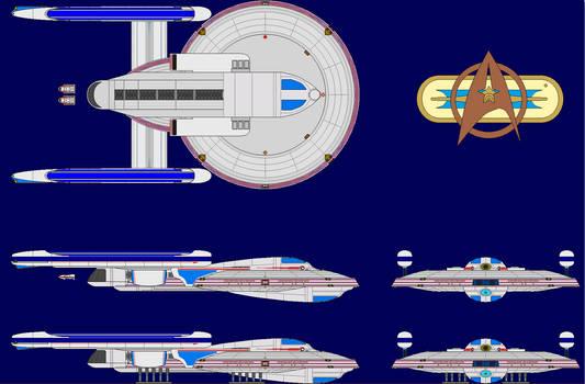 Atalanta-class Prime Verse (Pre TNG)