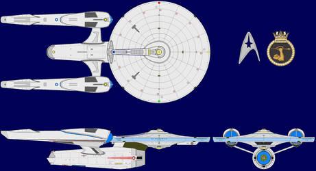 Agamemnon-class Light Cruiser JJ-Verse