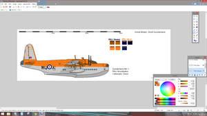 RNLI Shorts Sunderland Profile repaint WIP