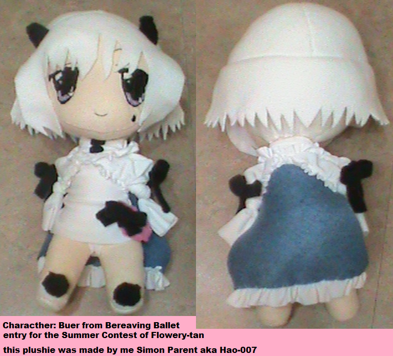 Buer plushie entry for flowertan contest by Hao-007