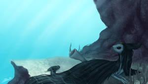 Underwater by Hidzia