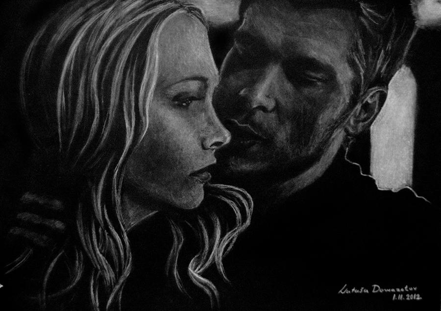 Klaus and Caroline by NatasaTW