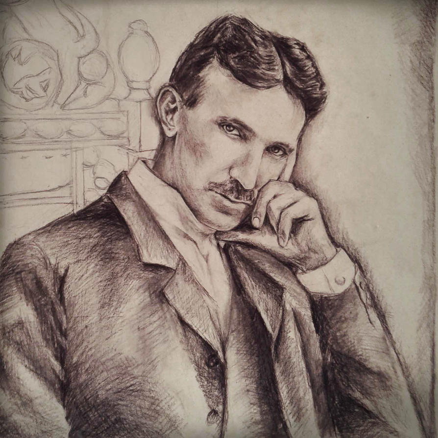 Nikola Tesla Wallpapers: Nikola Tesla By NatasaTW On DeviantArt