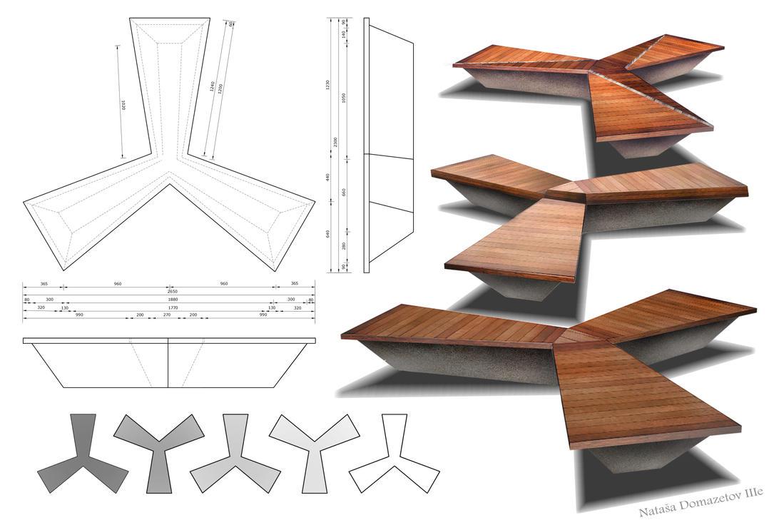 Bench Design By Natasatw On Deviantart