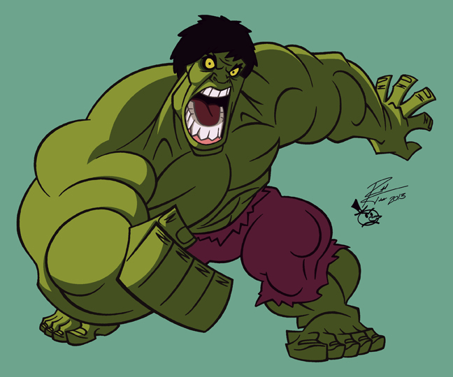 The Incredible Hulk by RToledoMrSnOw