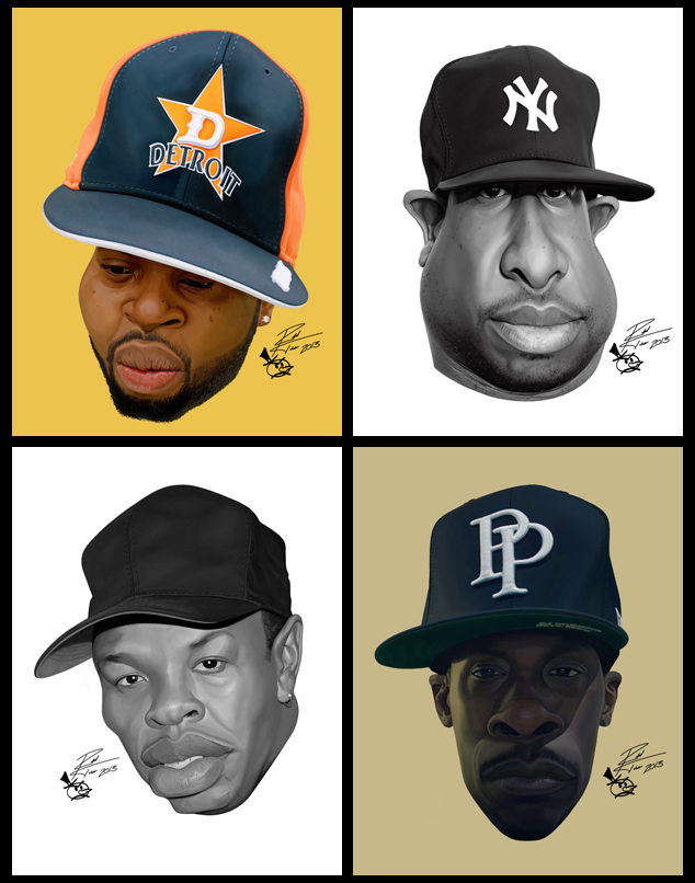 Hip Hop Producers by RToledoMrSnOw