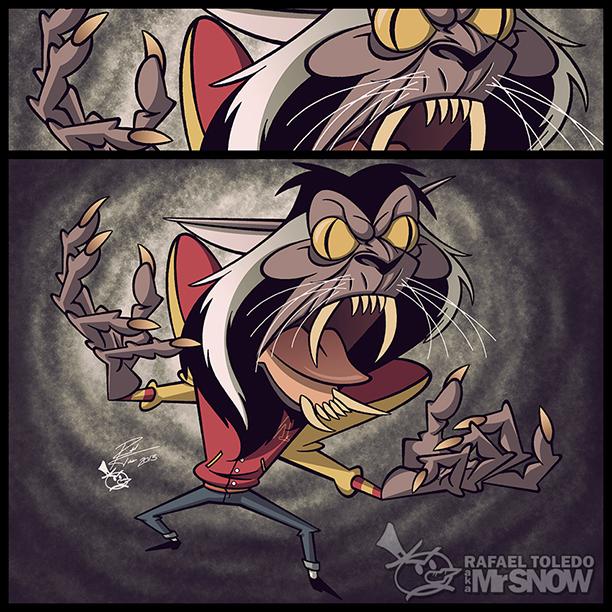 MJ Thriller Werewolf by RToledoMrSnOw