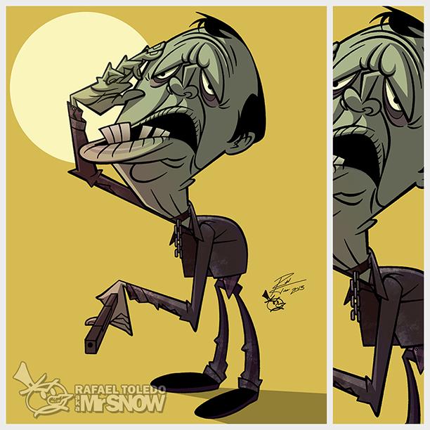 BubThe Zombie by RToledoMrSnOw
