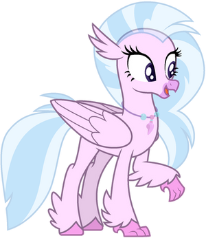Mlp Base silver stream (Hippogriff)