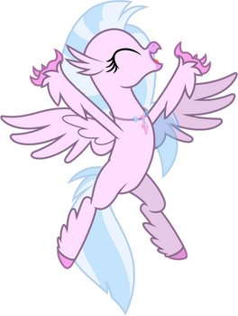 Mlp Base silver stream (Hippogriff 2)