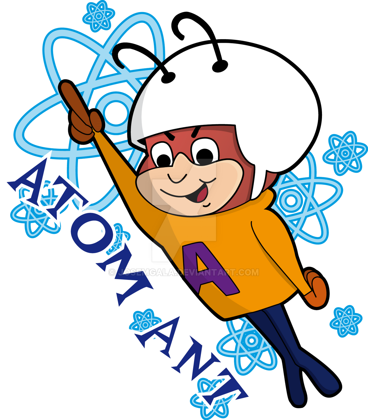 atom ant by josemgala on deviantart free clipart softball pictures free softball clipart images