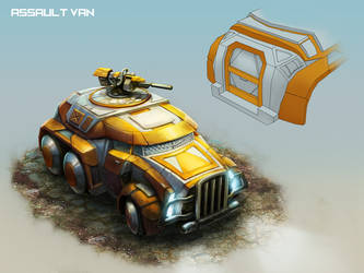 Assaultvan by AngelofBacon