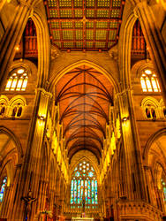 St Mary's Cathedral HDR
