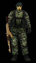 Staff Sergeant Smiles