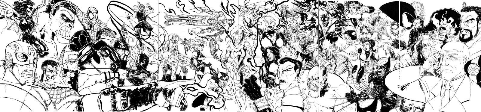Avengers VS X-Men tribute