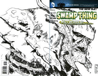 Blank Cover: Swamp Thing