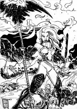 Dark Phoenix Barbarian