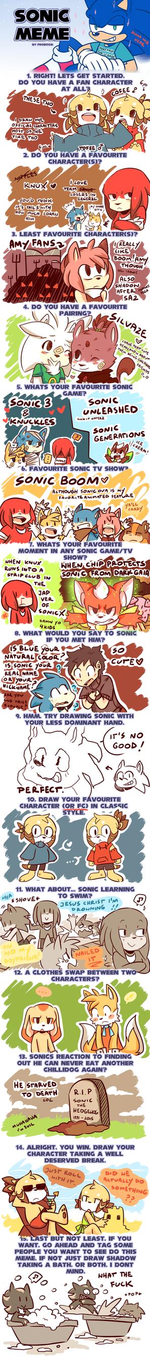 Sonic meme :p by DiachanX