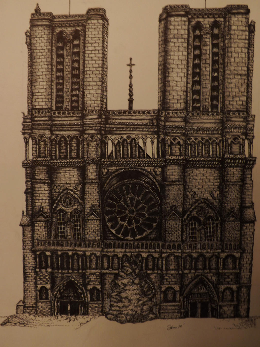 Notre Dame by akina-nicole