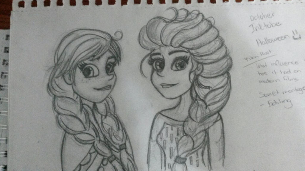 Just Else and Anna by MissKaytheLaReveuse