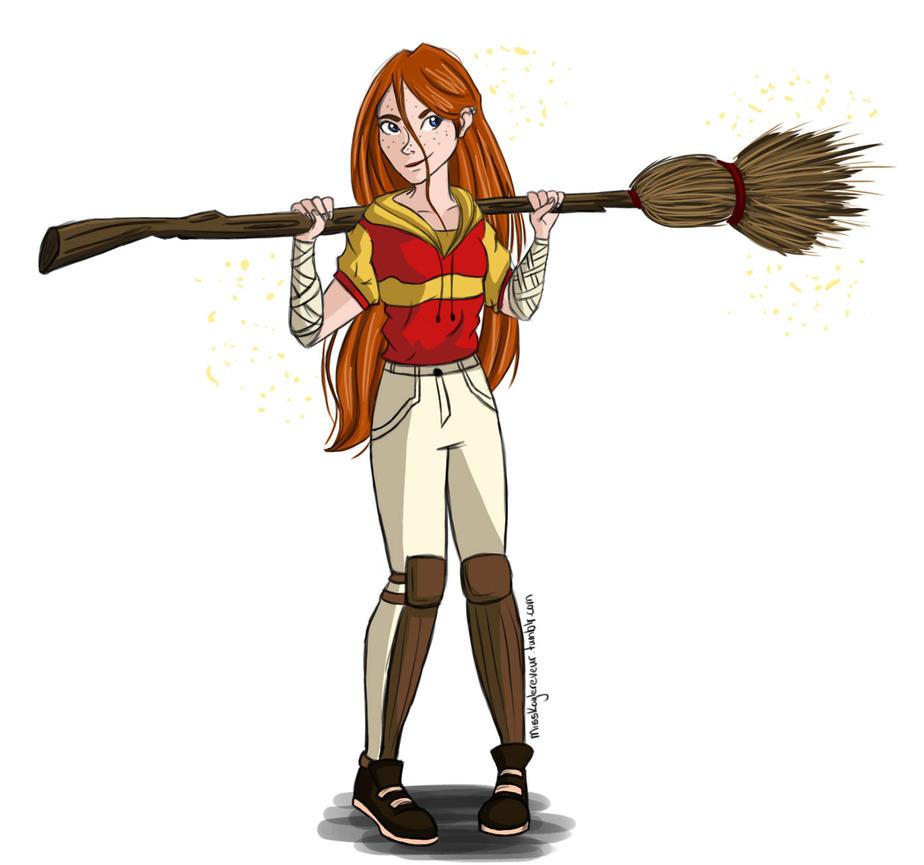 Ginny Weasley by MissKaytheLaReveuse
