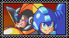 Megaman and Bass .:STAMP 2:. by danielstudios
